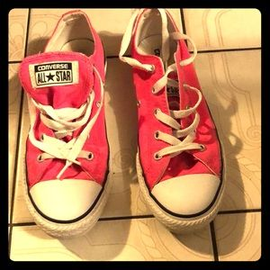 Converse All-Star Pink sneakers size 3